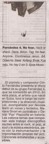 Fernandez4, La Prensa 4 de mayo